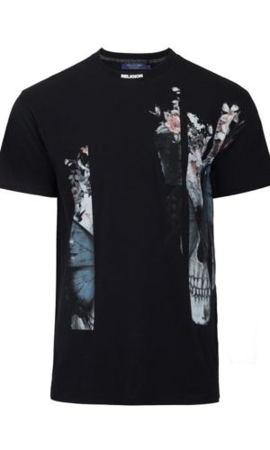 BUTTERFLY T-SHIRT BLACK