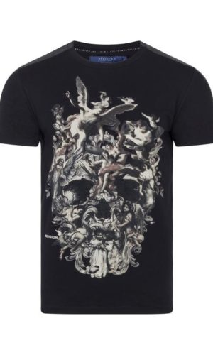 CHERRUBS SKULL T-SHIRT BLACK
