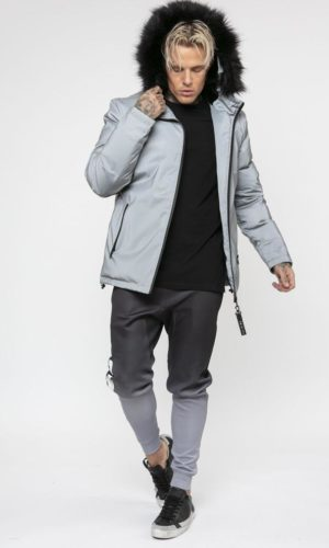 Summit Fur Jacket(Silver Reflective)