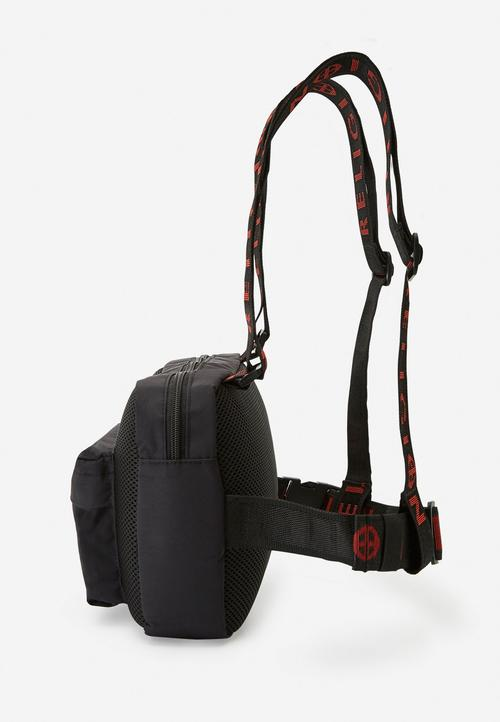 GARNET HARNESS BAG BLACK
