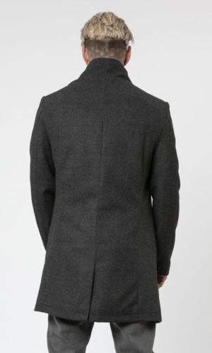NOIREX COAT DARK CHARCOAL