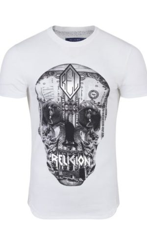 OSTERRIZED SKULL T-SHIRT WHITE