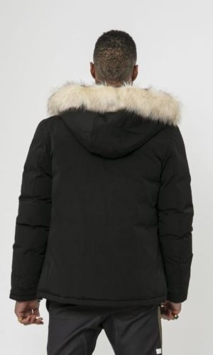 SUMMIT FUR JACKET BLACK