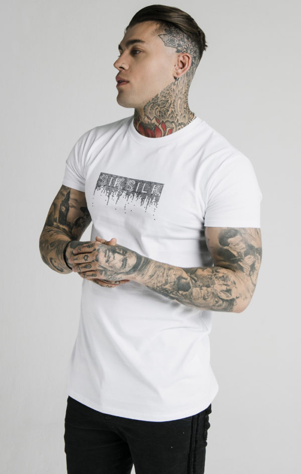 SIKSILK RHINESTONE CREEP TEE