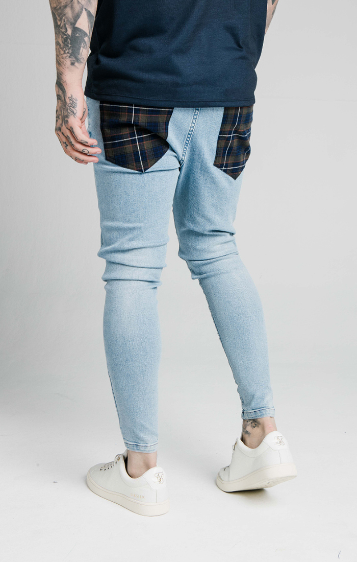 SIKSILK LOW RISE DENIMS