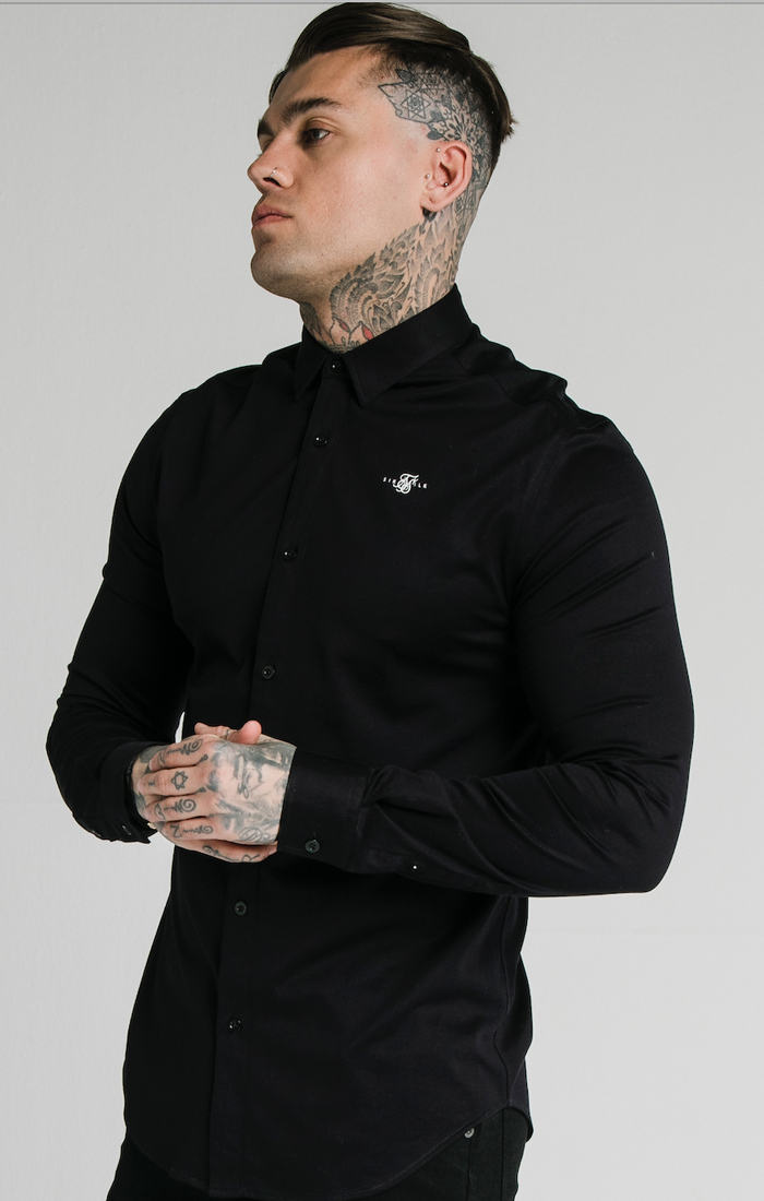 SIKSILK L/S COTTON SHIRT