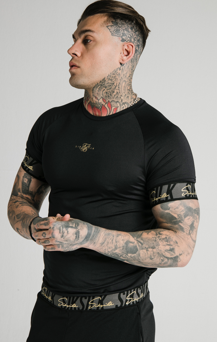 SIKSILK S/S SCOPE TAPE TECH TEE