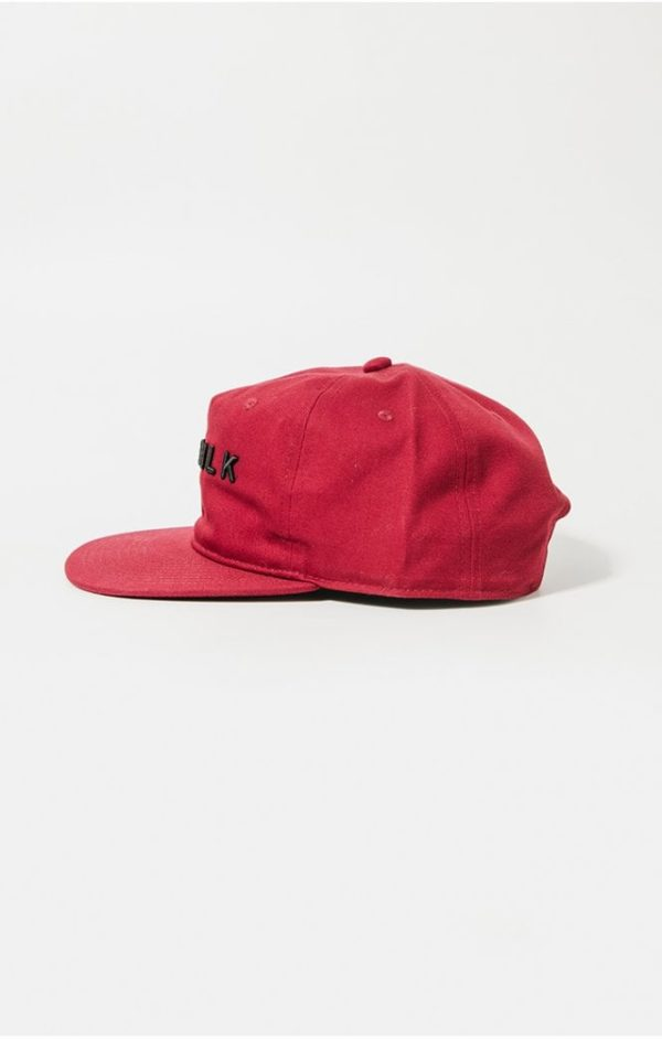 SikSilk Cotton Snap Back - Red