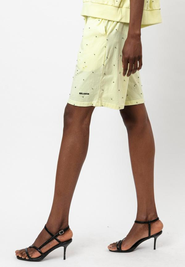 BEACH SHORT WITHOUT HOLES TENDER YELLOW