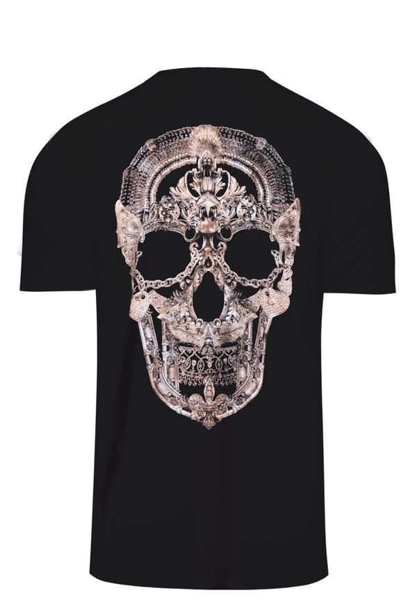 JEWELLERY SKULL T-SHIRT BLACK