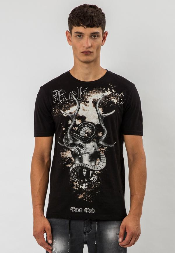 STAG T-SHIRT BLACK